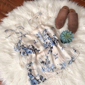 Honey Punch floral blouse